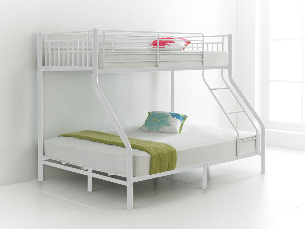 Betternowm Co Uk Cherry Quality Metal Triple Sleeper Bunk Bed