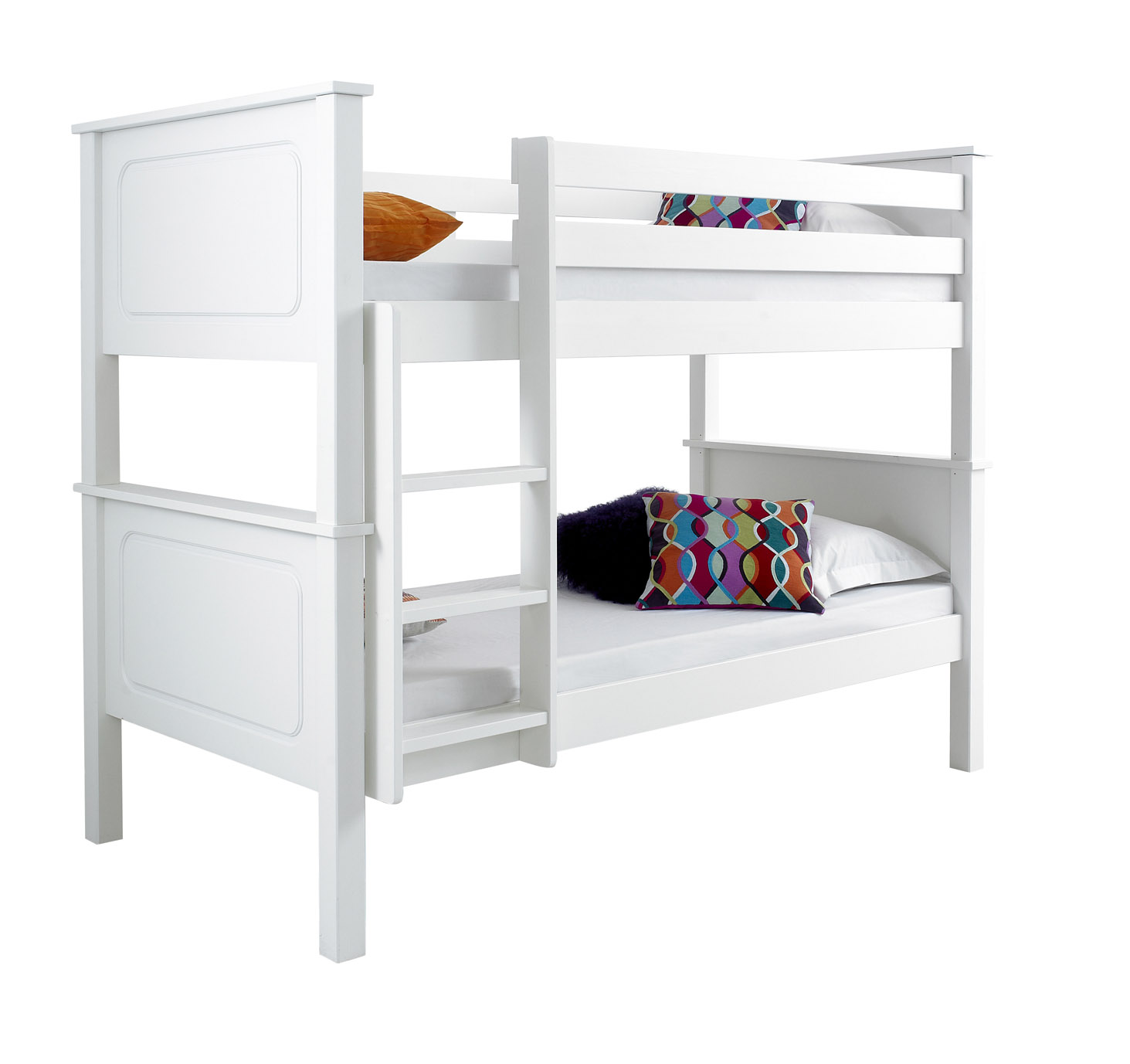 Betternowm Co Uk Vancouver Solid Pine Wooden Bunk Bed With 2 X